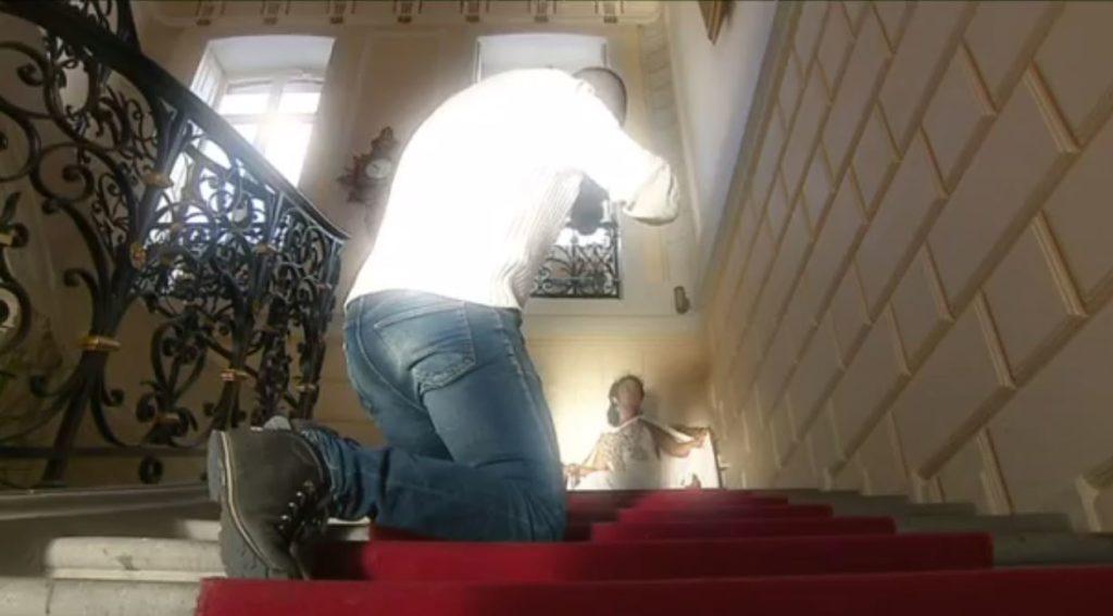photo issu de la video de tournage de france 3